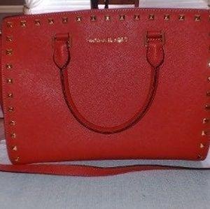 Rare Michael Kors Selma studded bag